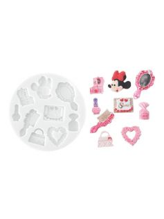 Forma do masy cukrowej SLK 369 – minnie, 30x15 mm | SILIKOMART, Sugarflex Minnie Accesorize